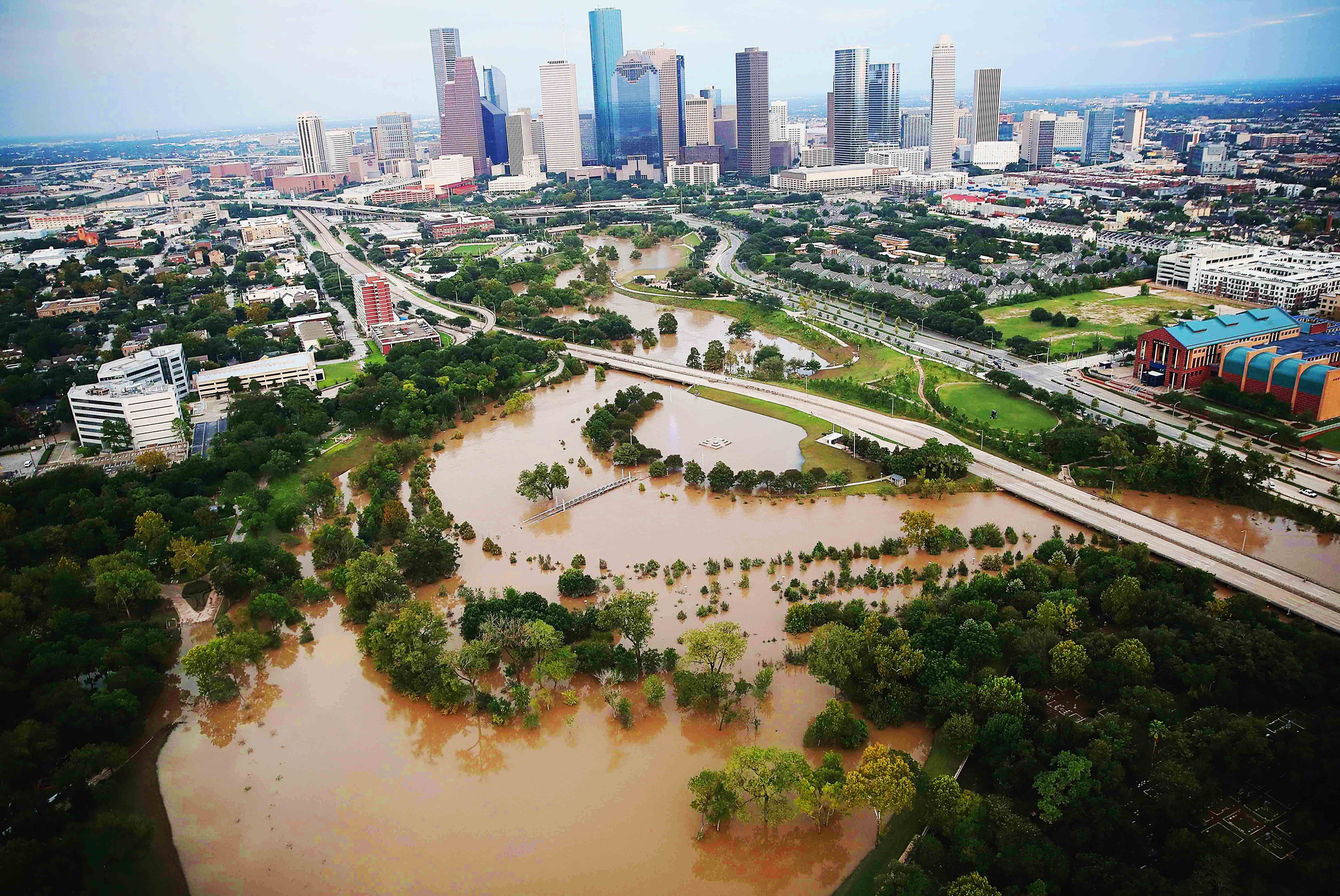 Houston Flooded